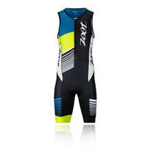 Abbiglimento sportivo da uomo multicolore da corsa senza maniche