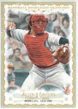 2012 Topps Allen & Ginter Baseball Highlight Sketches #BH19 Carlton Fisk Red Sox