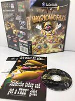 ✅Wario World (Nintendo GameCube 2003) RARE INSERT! NO MANUAL! SEE PICS ShipsFast