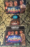 ABBA , Single Quartett AMIGA, Poster & Kalender, selten rare