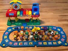 VTECH Smartville Alphabet Train Station Sounds Learning Game Works Toddler Baby