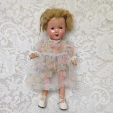 Vintage, 13in Shirley Temple Proto-type Composition Doll