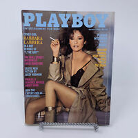 Playboy Magazine March 1982 Barbara Carrera, Patty Hearst Interview