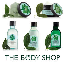 Body Shop Fuji Green Tea Full Range- Body Wash Scrub Cologne Shampoo Conditioner