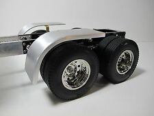 Custom aluminum Half fender Cover Tamiya RC 1/14 Semi King Knight Hauler Trailer