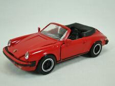 NZG No. 265 Porsche Cabriolet rot 1:43