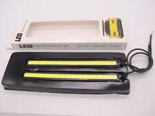 Daytime Running Light Waterproof 12V 17CM COB DRL Driving Bulb Car LED Fog White