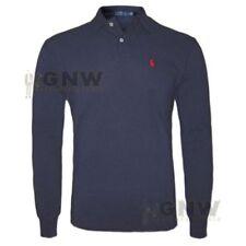 Camicie casual e maglie da uomo blu Ralph Lauren taglia M