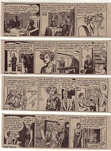 Blade Winters by Ed Mann - 26 daily comic strips - Complete August 1952