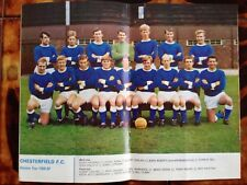 Chesterfield 1968/69 team picture