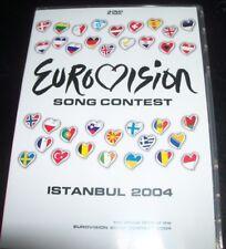 Eurovision Song Contest Insanbul 2004 (Australia Region 4) DVD – Like New