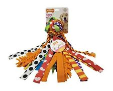Happy Moppy Big Dog Toys Colorful Crazy Mixed Fabric Texture Knot Ball Pick Size