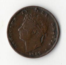 ANGLETERRE UK @ UNITED KINGDOM @ RARE MONNAIE DE 1/3 FARTHING 1827 @ VICTORIA