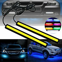 Exterior Car Decoration Daytime Running Light LED Fog Lamp DC 12V DRL COB