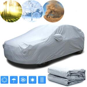 Cubiertas protectora lona auto funda coche contra lluvia UV Tamaño S M L XL