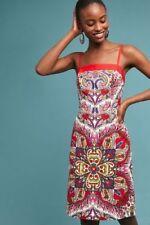 NWT Anthropologie Maeve Paisley Shift Dress, Size 16