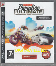 Burnout Paradise PS3 The Ultimate Box Brand New Factory Sealed PlayStation 3