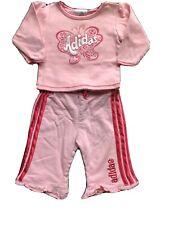 Adidas Sweatsuit Girls Size 6 Months