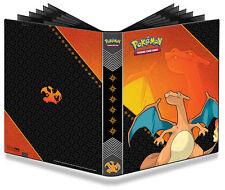 360-Card Pro Binder Ash's Charizard Original Base Art Pokemon Album Portfolio