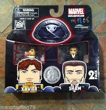 Marvel Minimates XAVIER & SHAW X-Men First Class Movie TRU Wave Exclusive