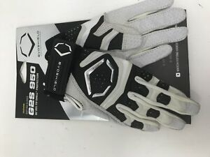 New EvoShield Youth XGT 950 Batting Gloves Large Black/Gray