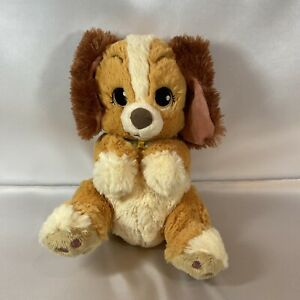 Vintage Lady Plush Stuffed Animal Lady and The Tramp Disney Parks Exclusive HTF