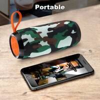 LOUD Bluetooth Car Speaker Wireless Waterproof Portable Outdoor Stereo Bass FM