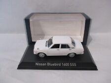 Nissan Bluebird 1600 SSS  White  1972   Norev