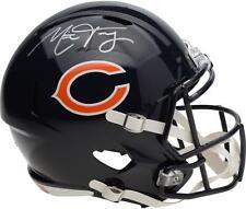 Митчелл trubisky чикагские медведи с автографом Riddell Speed реплика шлема