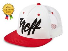 on sale fb853 a199e Neff Surf Skate 15p00035 Mad White Adjustable Snapback Trucker Cap Hat OS