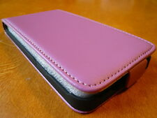 Wallet Flap Case For Flap Cover Leatherette Purple Fuchsia HTC Desire X