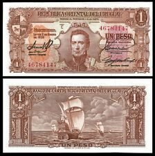 Uruguay 1 PESO L.1939 Serie C Sign.1 P 35b UNC