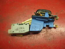 99-02 00 01 saab 9-3 passenger side right front door latch & power lock actuator