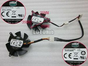 MSI 610GT 620GT 630GT graphics card fan FY04510H12SFA FY04510H12SAA 12V 0.20A