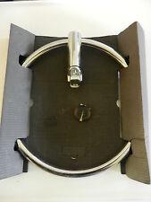 Anneau chromé pour radiateur sèche-serviettes à tubes ronds CL 02