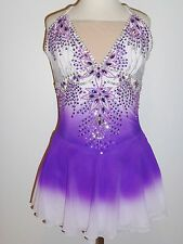 CUSTOM MADE TO FIT FIGURE ICE SKATING DRESS