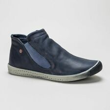 Flat (less than 0.5') Pull On Ankle Boots for Women