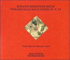 Bach: Cello Suites 4-6 (CD, Mar-2016, Winter & Winter)