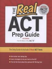 THE REAL ACT PREP GUIDE, 3rd EDITION by ACT Inc. (2011, Paperback)
