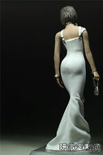 """12"""" Female Action Figure Clothes Dress Toy Model 1/6 Scale White Tight"""