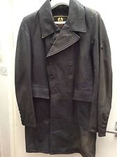 BELSTAFF RARE LONG TRENCH SWEENY TODD BIKER COAT JACKET DESIGNER MOVIE PROP