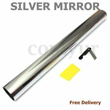 75cm x3m Car Auto Van Chrome Silver Window Tint Film OneWay Mirror Tinting Foil
