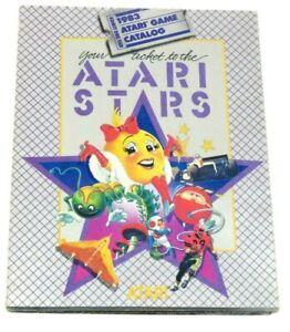 Atari Stars Game Catalog CA-947-1/83 CO21776-REV A 2600 5200 7800