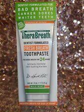 TheraBreath Dentist Formulated Toothpaste AntiCavity/AntiTartar Aloe Vera) 06/20