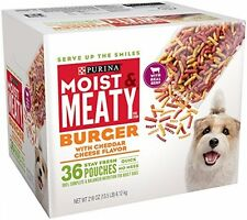 Burger W Cheese Flavor Dog Food, Pet Supplies Real Meaty Nutritious Adult Dogs