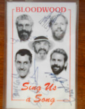 RARE cassette- BLOODWOOD - Sing Us a Song - SIGNED - Australian music -1988 ?