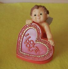 Vintage Hallmark Merry Miniature Valentine Cupid with I Lo