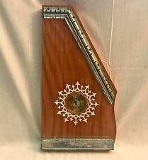 Vintage Wooden 16-String BONTEMPI Lap-Harp Autoharp Zither Made in Italy