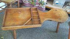 Antique Cobbler's Shoe Repair Bench by Coffee Table Vintage Vermont, Wow