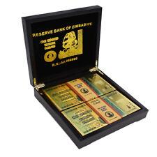 Colorful Zimbabwe One Hundred Trillion Dollar Bill In Zimbabwe Wooden Box 100pcs